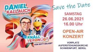 Open-Air Konzert mit Daniel Kallauch in SW