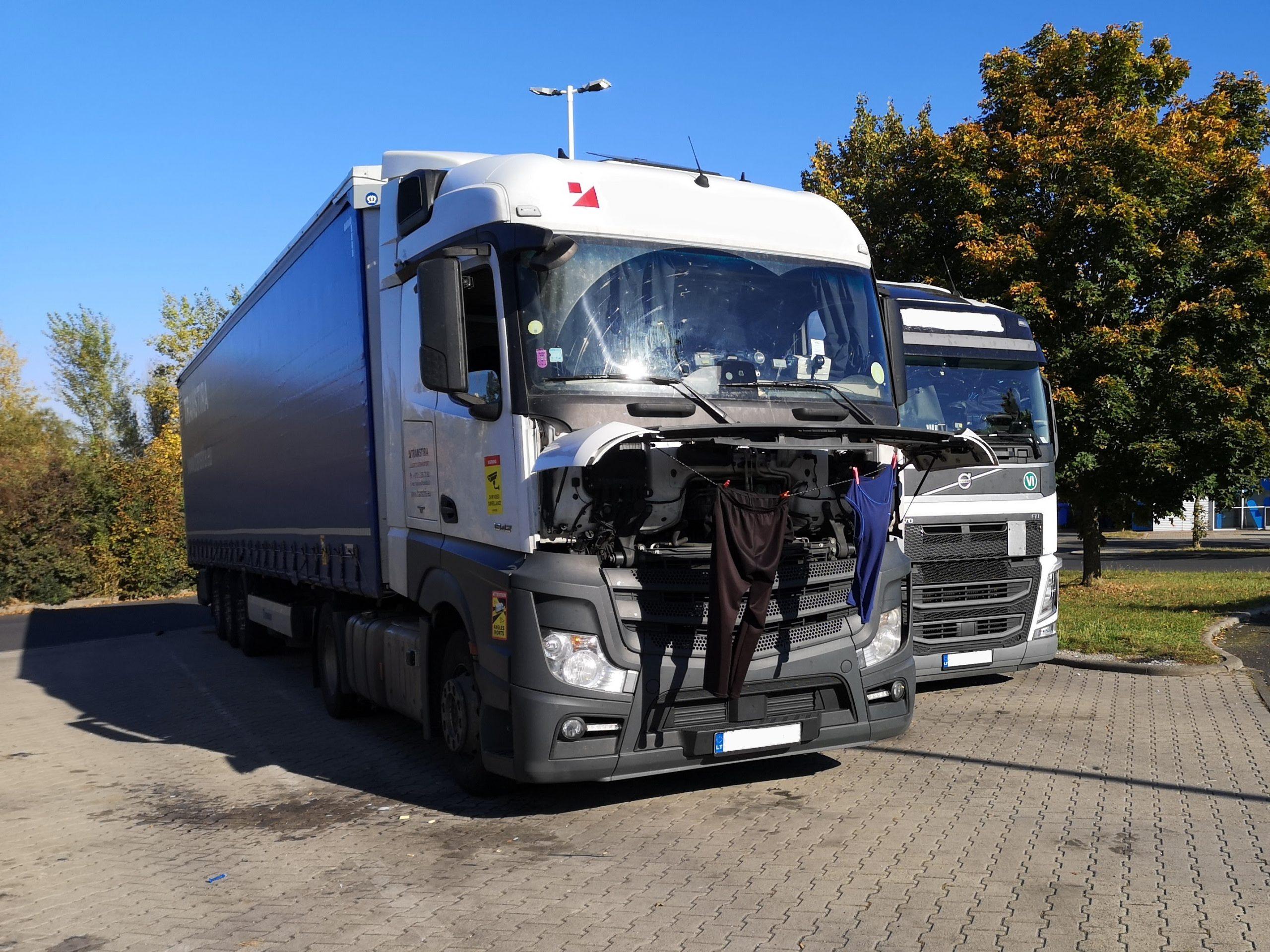 Ein Herz für LKW-Fahrer